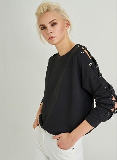 Kol Detaylı Sweatshirt-People By Fabrika